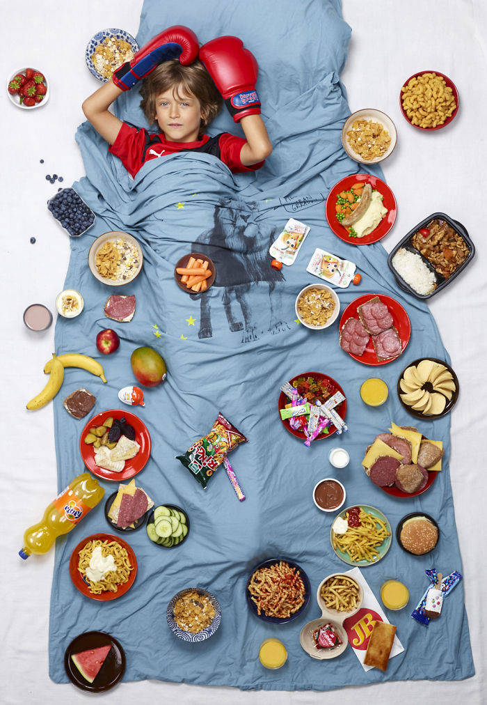 Kids Around The World And What They Usually Eat