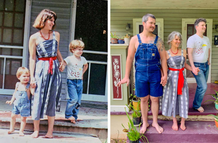 Photo Recreations Take People Back To Their Own Past