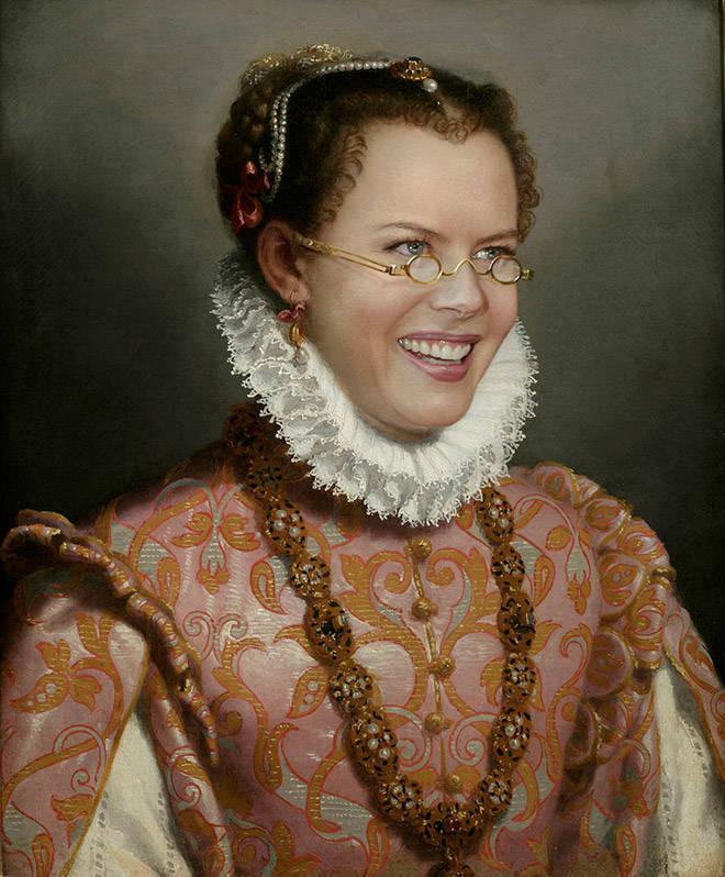 Modern Celebs Look Very Good In Classic Paintings