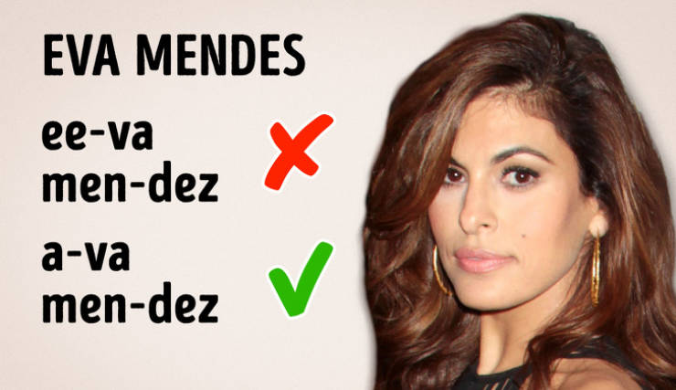 How To Pronounce Those Obnoxious Celebrity Names