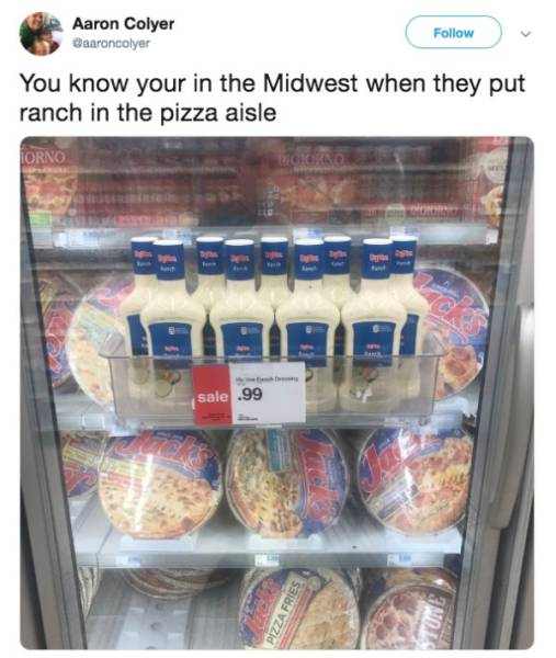 There's Never Too Much Ranch On Midwest Memes
