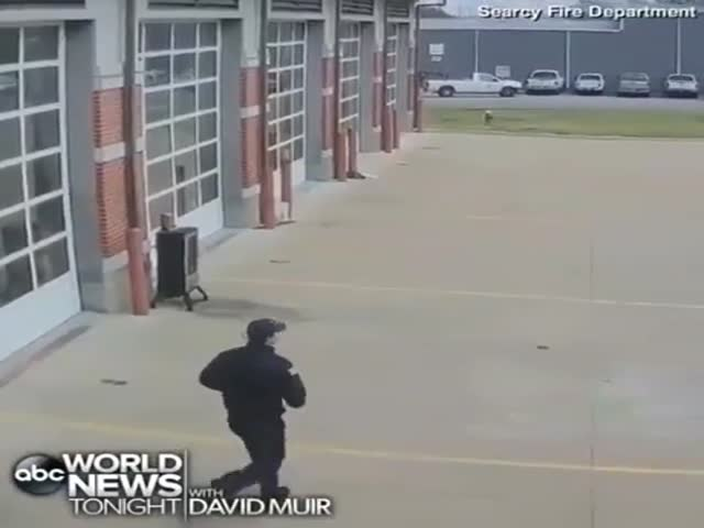 Fireman Saves A Baby Who Stopped Breathing