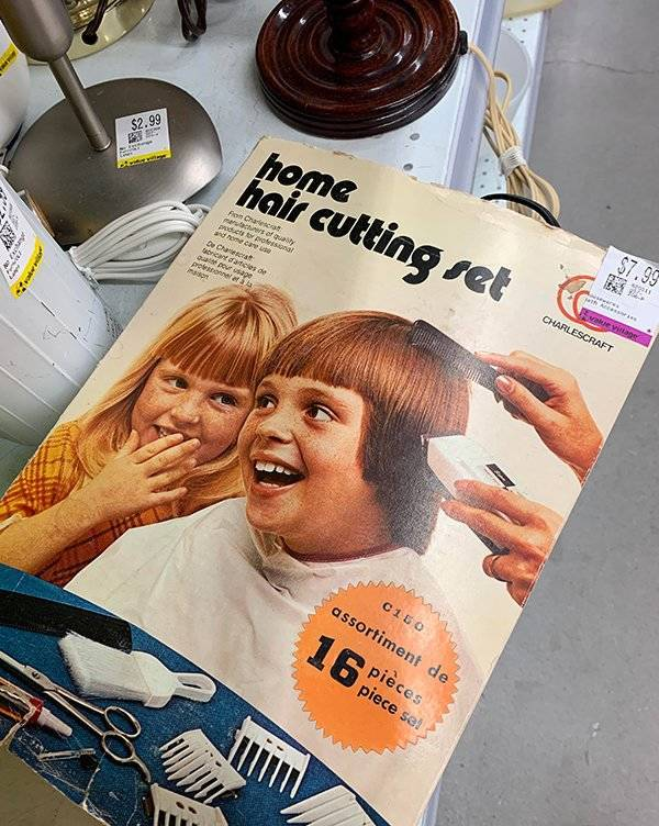Hey, You've Got An Awful Haircut!