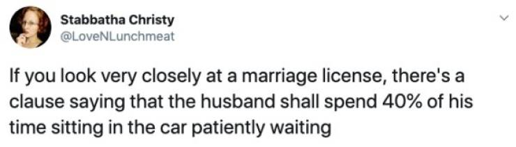 Marriage Tweets Are Full Of Sarcasm And Dark Humor