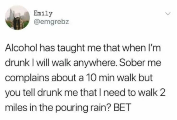 Sometimes Drunk People Are Good People