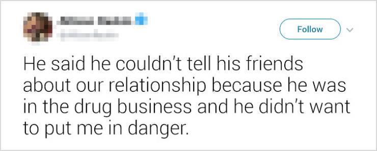 Ex-Boyfriends Can Be Really Weird…