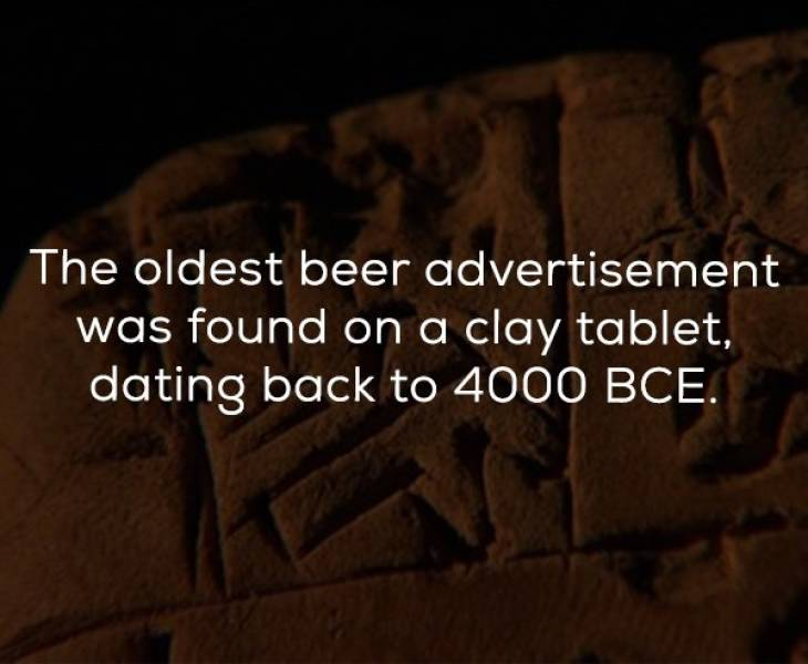 Foamy Beer Facts