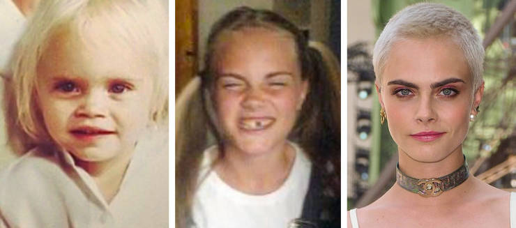 Hollywood Beauties When They Were Just Kids And Now