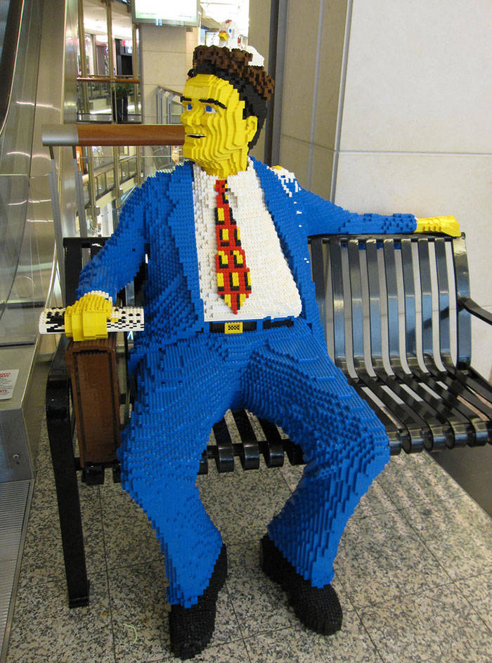 LEGO Can Be Used To Create Anything…