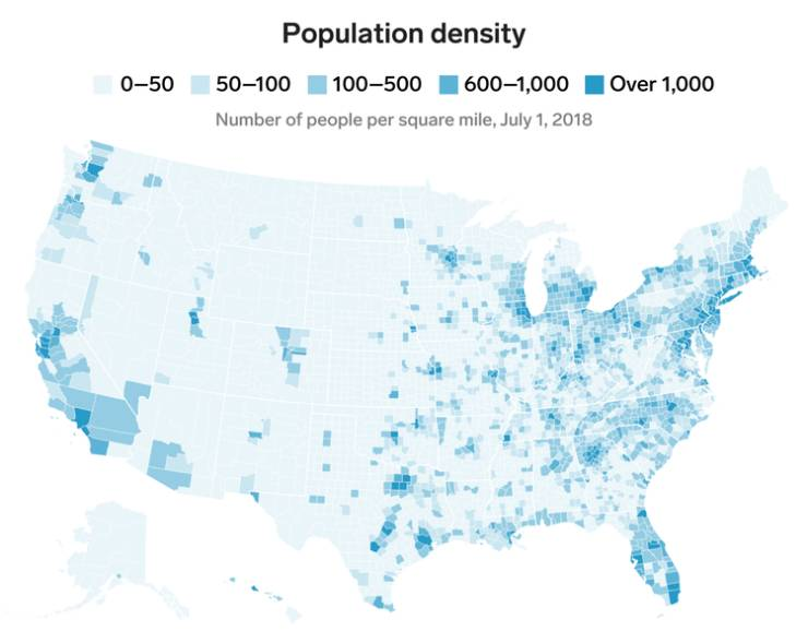 Maps That Tell Everything About The US