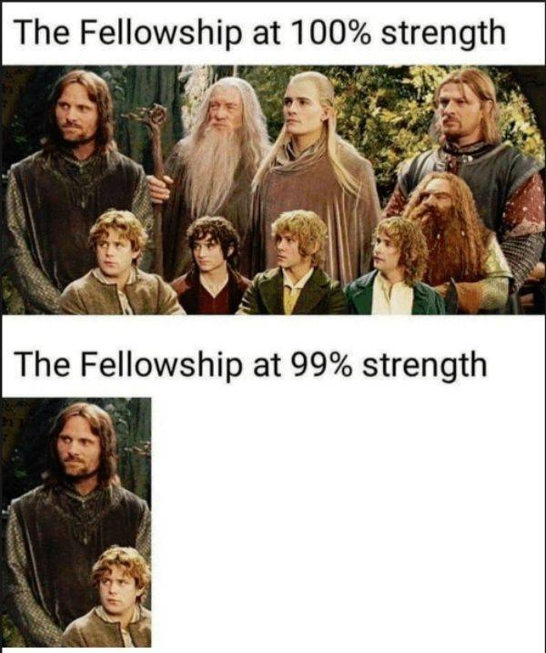 "One Does Not Simply Skip The Post With ""Lord Of The Rings"" Pics"