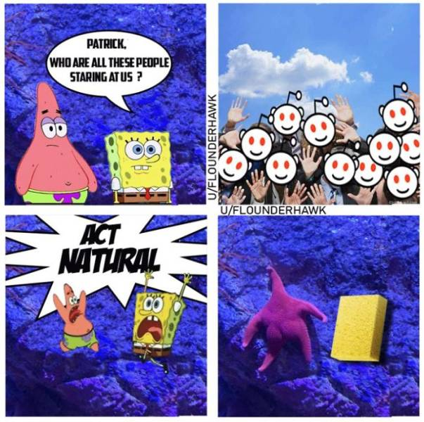 Patrick?! Is That Really You?!