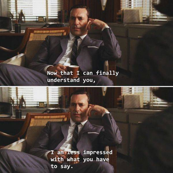 """Classy Moments From """"Mad Men"""""""