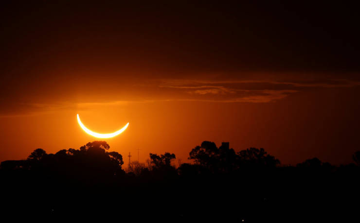If You Missed The Solar Eclipse, Here Are The Photos