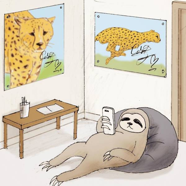 Japanese Artist Draws Satirical Illustrations About Our World