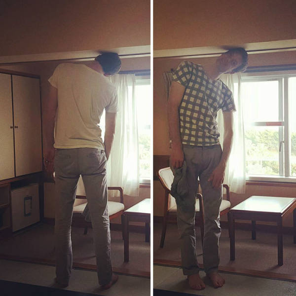 Japan Is Not Tall People Friendly At All…