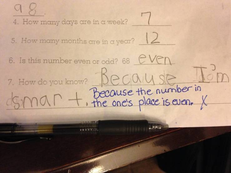 Kids Always Come Up With Some Ridiculous Exam Answers
