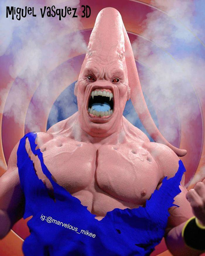 Real-Life Cartoon Characters Are The Stuff Of Nightmares