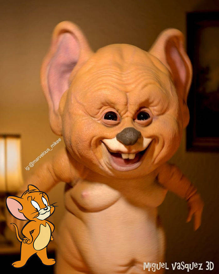 Real Life Cartoon Characters Are The Stuff Of Nightmares 16 Pics