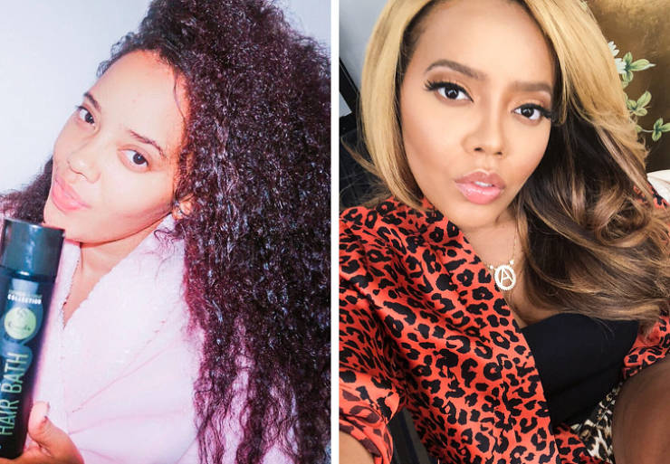 Take A Look At What Celebs' Natural Hair Looks Like