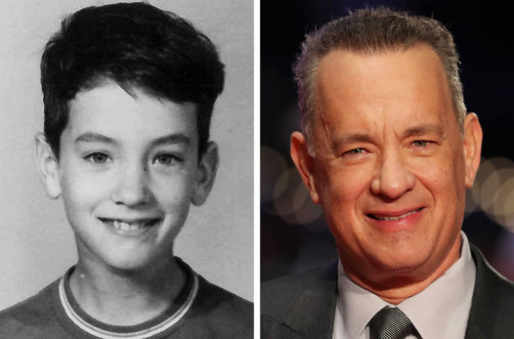 How Celebs Looked In Their School Years Vs. How They Look Now