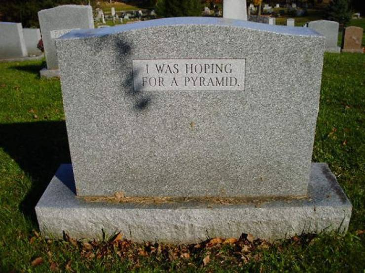 Tombstones Can Be Funny, Who Would've Thought
