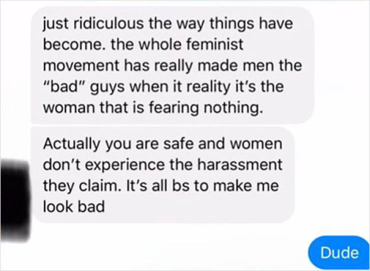 """Random """"Nice Guy"""" Gets Mad Because Woman Didn't Give Him Her Home Address"""
