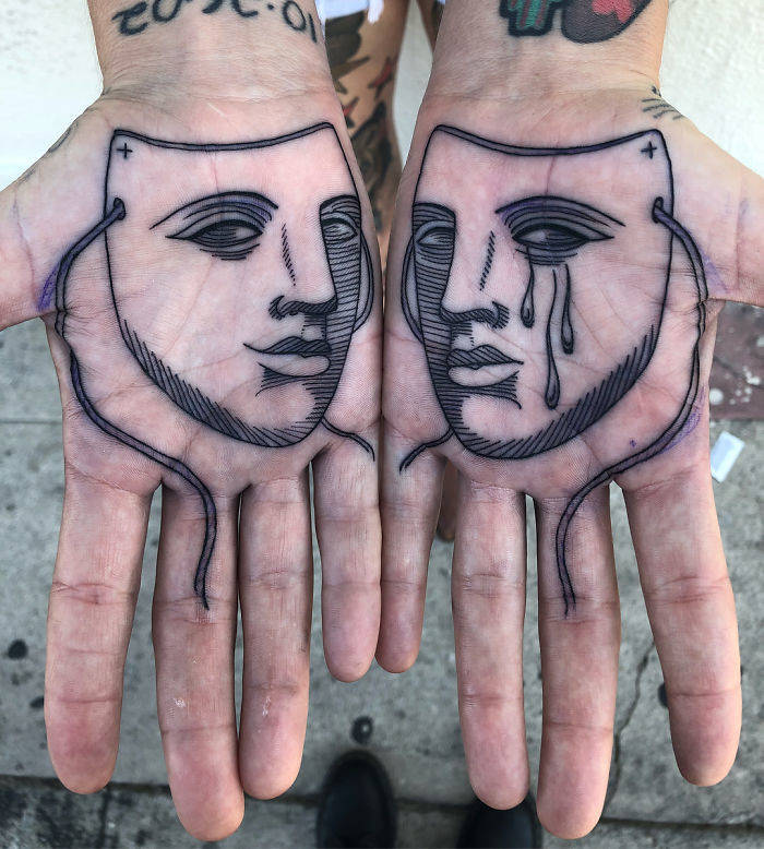 What People Tattoo On Their Palms
