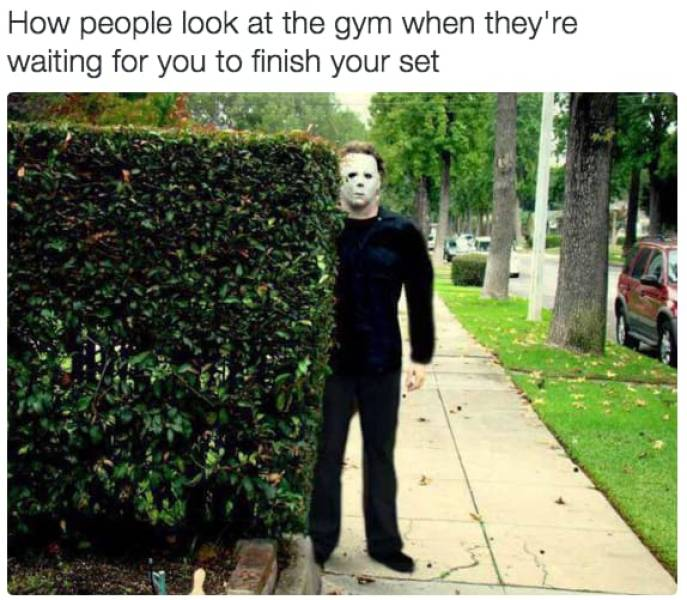 Work Out With These Gym Memes
