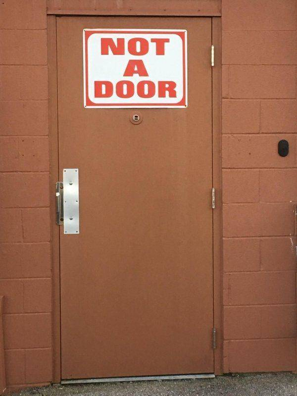 Ninjas Have Their Own, Specifically Made Doors