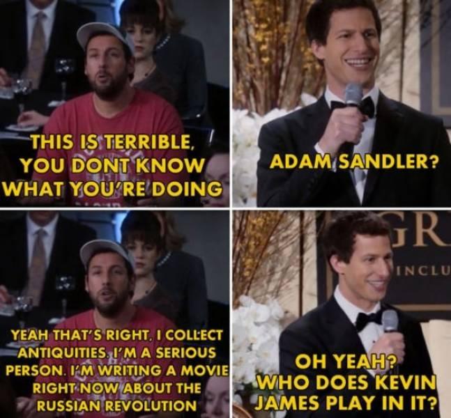 Everyone Loves Andy Samberg