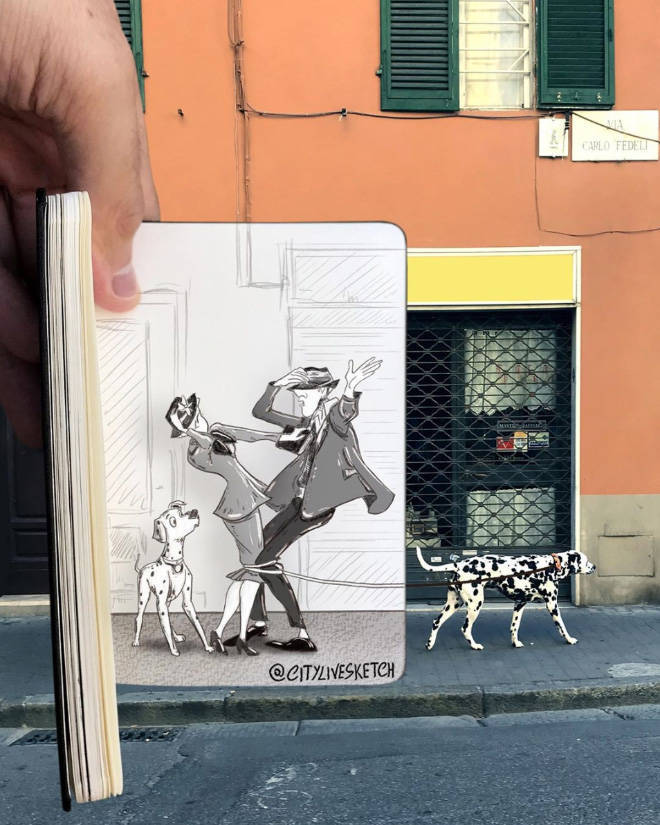 Artist Proves That Cartoon Characters Have Their Place In Real World