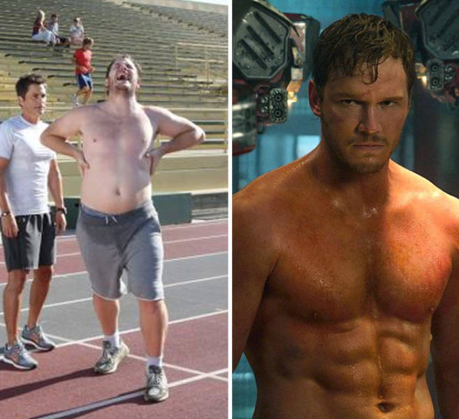 How Marvel Roles Changed Actors' Bodies