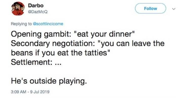 If You Have A Toddler, Get Ready For Real Negotiations