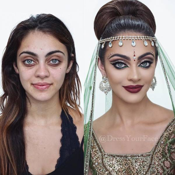 When Makeup Changes You Completely
