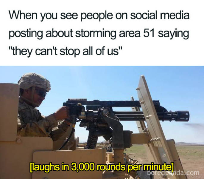 """Best Memes About That Notorious """"Area 51"""" Raid"""