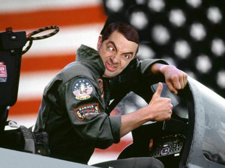 Mr. Bean Can Play Any Role