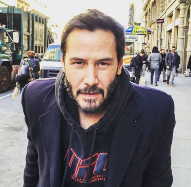 Why Everybody Loves Keanu Reeves