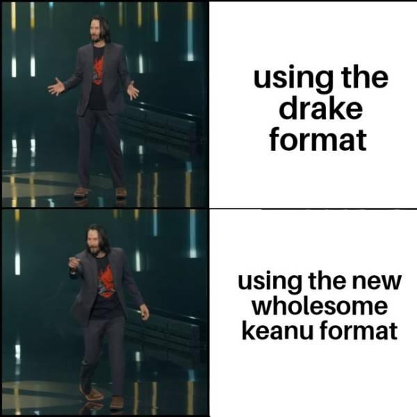 Why Everybody Loves Keanu Reeves