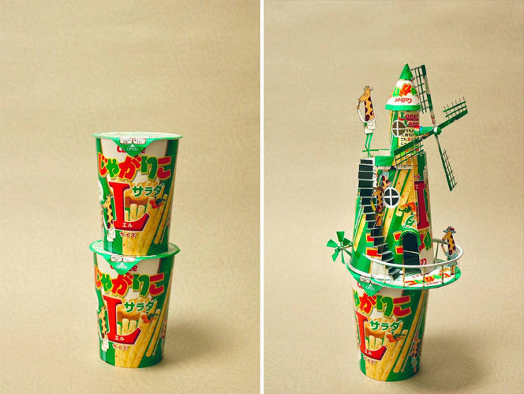 In Skillful Hands Of This Japanese Artist Product Packaging Turns Into Art