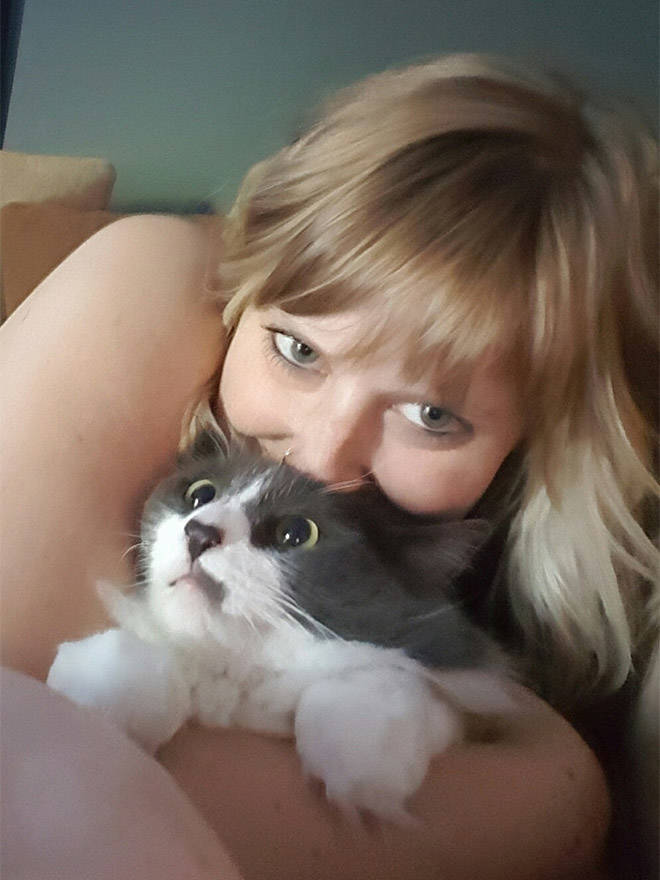 Cats That Don't Really Want To Cuddle Right Now