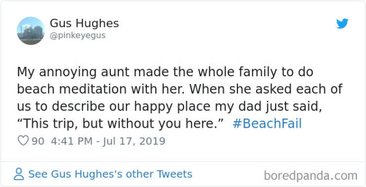 That's A Fail, Beach
