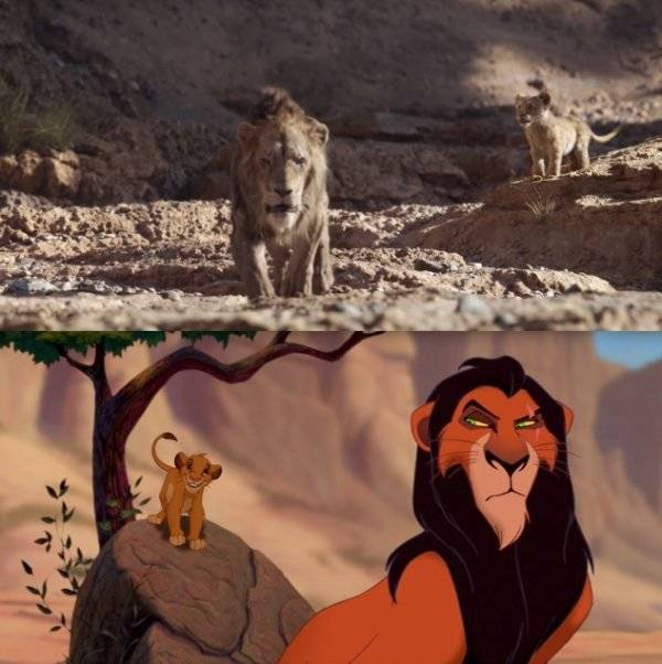 """How The New """"Lion King"""" Compares To The Original One"""