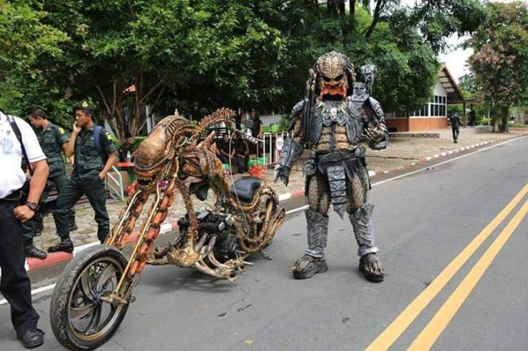 There Is An Actual Predator Living In Thailand