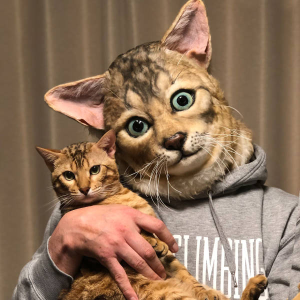 These Realistic Pet Masks Look Quite Macabre, To Say The Least