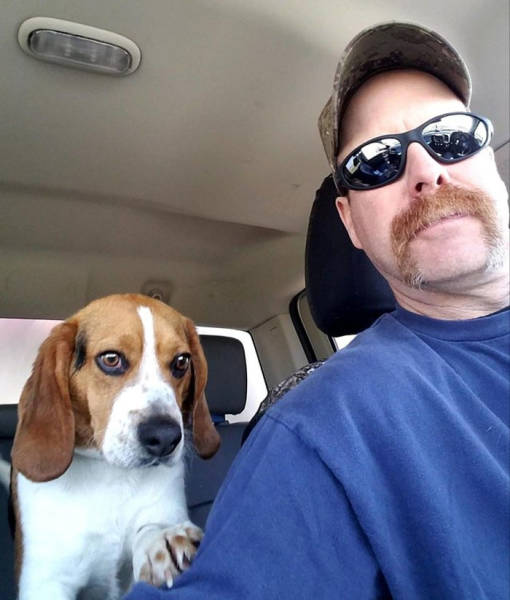 This Beagle Was Very Grateful For Being Saved From Euthanasia