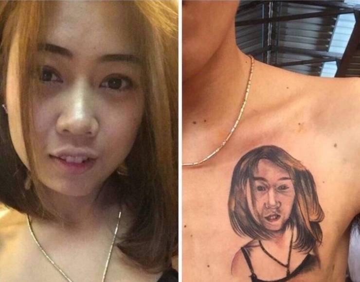 Epic Tattoo Fails 20 Pics Izismile Com When a mistake is made, the removal process is not usually an option due to the pain and cost involved. epic tattoo fails 20 pics