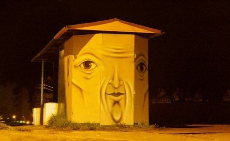 The Faces Of These Buildings Are Unsettling