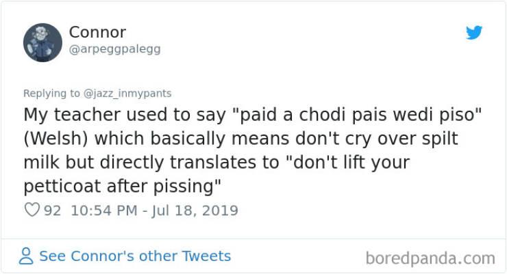 Witty Non-English Phrases That English Really Needs To Borrow