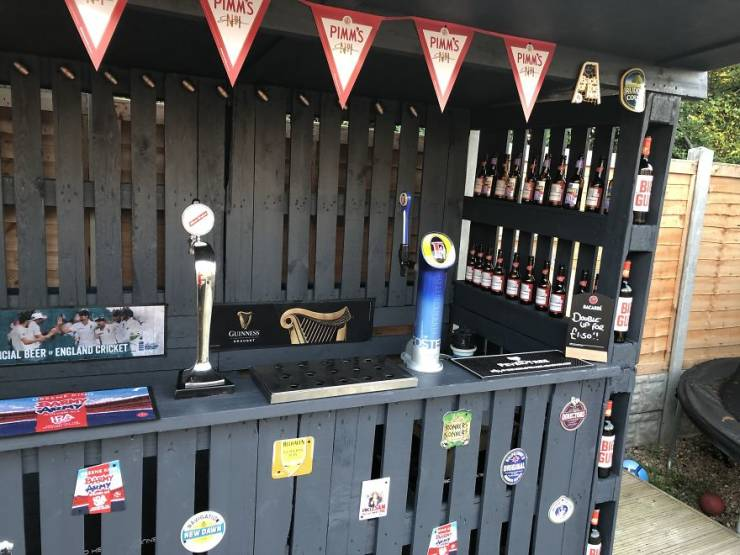 Bar From Pallets? That Will Be $112